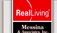 Real Living Messina and associates Real estate logo